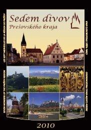 Kalendár 7 divov Prešovského kraja na rok 2010 - Espektrum.sk