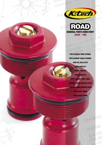 GENERAL PARTS DIRECTORY ISSUE - TWO - K-Tech - Uk