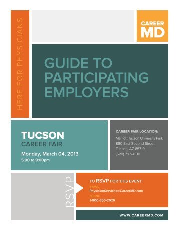 GUIDE TO PARTICIPATING EMPLOYERS - CareerMD