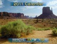 2011 IMPROVE Calendar - Colorado State University