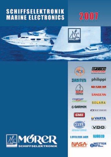 Novelties 2007 - promarine
