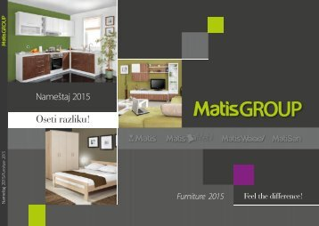 Furniture Matis - Catalogue 2015