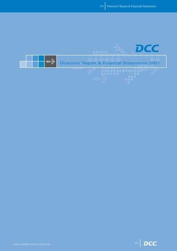 Directors' Report & Financial Statements 2001 - DCC plc