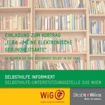 elga - meine elektronische gesundheitsakte - Wiener ...