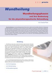 Download - Wundheilung - Claudia Dickinson Physiotherapie
