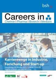Karrierewege in Industrie, Forschung und Start-up