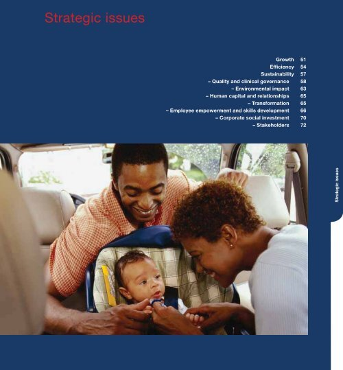 Strategic issues - Life Healthcare - Audited group results and cash ...