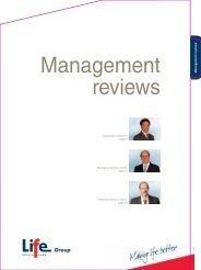 Management reviews - Life Healthcare