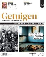 Tijdschrift: Getuigen tussen geschiedenis en herinnering - Nr. 120 (april 2015): Welke toekomst voor de herinnering aan de Armeense genocide?