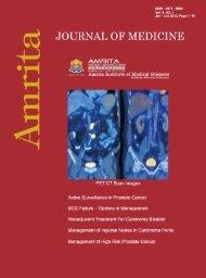 January - June 2013 - Amrita Institute of Medical Sciences and ...