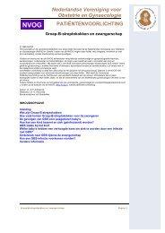 Groep B streptokokken en zwangerschap - NVOG