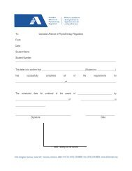 Verification of Completion of All Requirements - Canadian Alliance ...