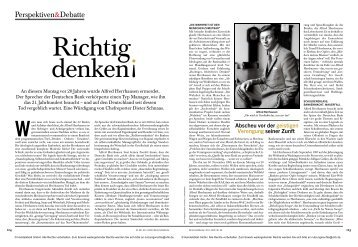 Alfred Herrhausen - Dieter Schnaas