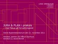JURA & PLAN i praksis - Dansk Byplanlaboratorium