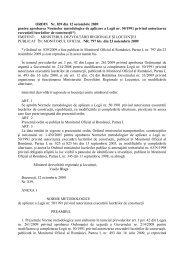 ORDIN Nr. 839 din 12 octombrie 2009 pentru aprobarea Normelor ...
