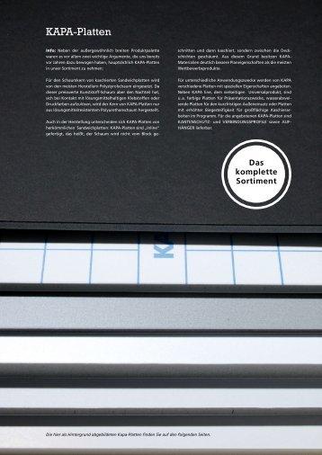 KAPA-Platten - Modulor