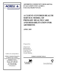a client-centred health service model of primary health care and ...