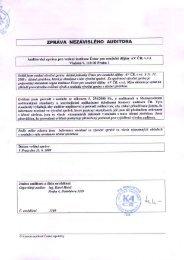 Výroční zpráva o činnosti a hospodaření za rok 2008 - Ústav pro ...