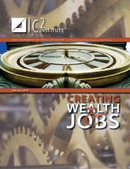 Creating Wealth and Jobs - UTEN