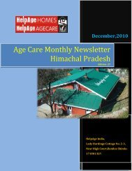 Age Care Monthly Newsletter Himachal Pradesh - Helpage India ...