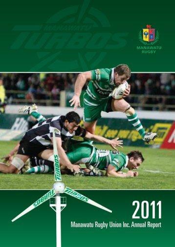 Annual Report 2011 - Manawatu Rugby