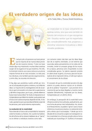 El verdadero origen de las ideas - IEEM