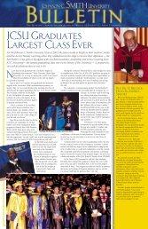 Bulletin October 2003 [.pdf] - Johnson C. Smith University