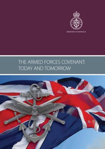 THE ARMED FORCES COVENANT: TODAY AND TOMORROW - NFF