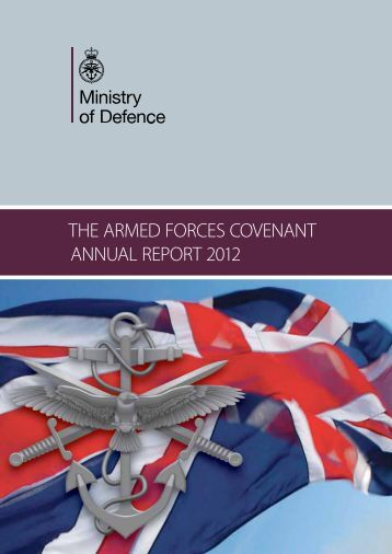 To read the Covenant Report document Click here - RAF Families ...