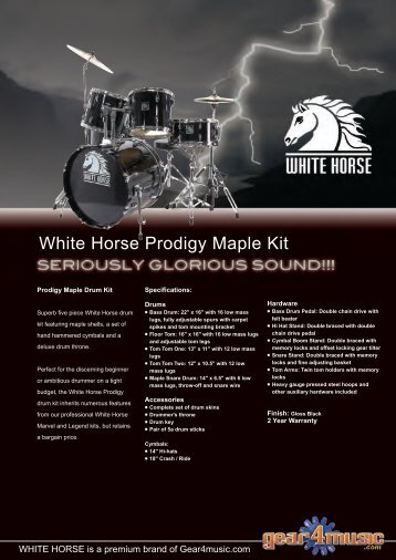 PDF Download brochure - Gear4Music