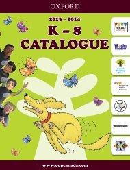 K – 8 CATALOGUE