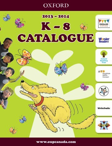 K – 8 CATALOGUE