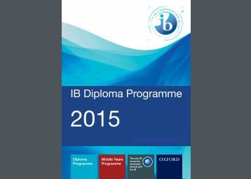 IB Catalogue Pages - Oxford University Press