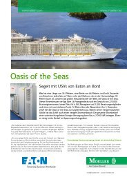Oasis of the Seas - Moeller