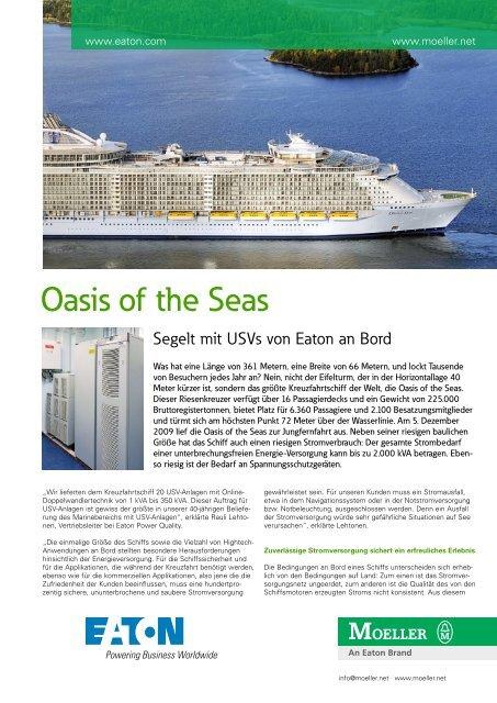 Oasis of the Seas - Moeller
