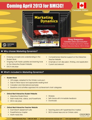 Marketing Dynamics Flyer_ON_2013.pdf - Oxford University Press