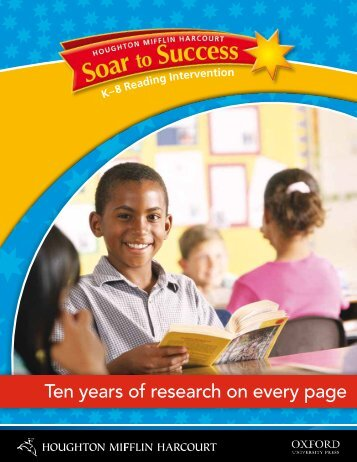 Soar to Success Brochure - Oxford University Press