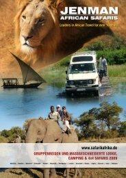 Nebensaison-Rabatt - Jenman African Safaris