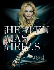 Heaven Has Heels Magazine | April 2015 Music Issue