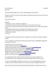 ST AC TAP Klubben 18-06-2012 Bestyrelsen Referat af ...