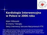 Kardiologia Interwencyjna w Polsce 2005