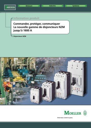 Information produit Commander, protéger, communiquer La - Moeller