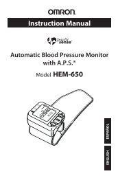 Instruction Manual Model HEM-650