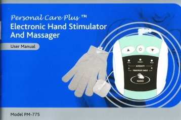 Electronic Hand Stimulator And Massager