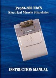 ProM-500 Instruction Manual