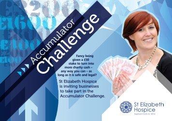 £1600 - St Elizabeth Hospice