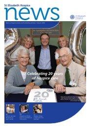 StElizHospiceNews issue2 2009 FINAL_PJ - St Elizabeth Hospice