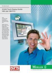 XV400 Touch-Display-Geräte HMI oder HMI-PLC - Moeller