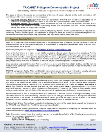 Grievance and Complaint Form - TRICARE Overseas