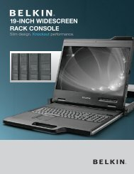 19-INCH WIDESCREEN RACK CONSOLE